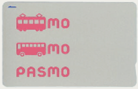 Image of a Pasmo card